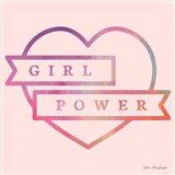 Girl Power IV Art Print