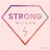 Strong Woman Art Print
