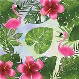 Tropical Life Flamingo I Art Print