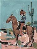 Vaquero Art Print