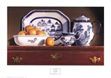 Tea & Oranges Art Print