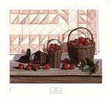 Strawberry Time Art Print