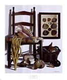 Beachcomber's Basket, 1989 Art Print