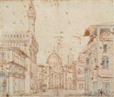 Firenze Perspective Art Print