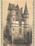 Bordeaux Chateau I Art Print