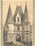 Bordeaux Chateau II Art Print