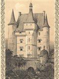 Bordeaux Chateau III Art Print