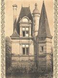 Bordeaux Chateau IV Art Print