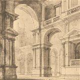 Portico Antico I Art Print