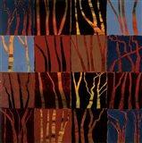 Red Trees I Art Print