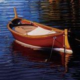 Piccolo Barca Rossa Art Print
