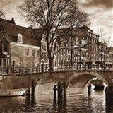 Autumn in Amsterdam II Art Print