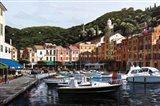 Sunrise Over Portofino Art Print