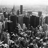 Manhattan and the Hudson Art Print