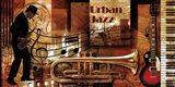 Urban Jazz Art Print