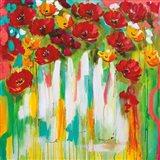 Poppies Glowing Art Print