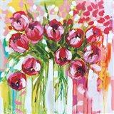 Razzle Dazzle Tulips Art Print