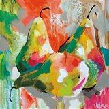 Sunlit Pears Art Print