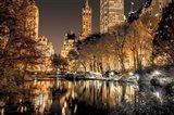 Central Park Glow Art Print
