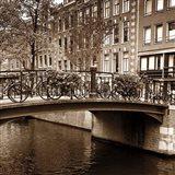 Autumn in Amsterdam III Art Print