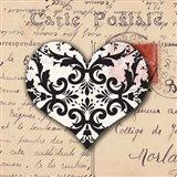 Le Coeur d'Amour IV Art Print