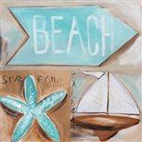 Where's the Beach? Art Print