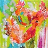 You Ruffle My Feathers Art Print