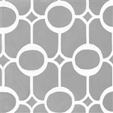 Latticework Tile II Art Print