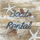 Boat Rental Art Print