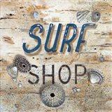 Surf Shop Art Print