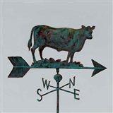Rural Relic Cow Art Print