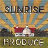 Sunrise Produce Art Print