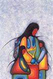 Winter Mother Art Print