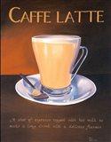 Urban Caffe Latte Art Print