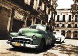 Cuban Cars II Art Print