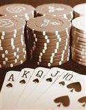 Poker Art Print