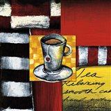 Steeping Tea Art Print