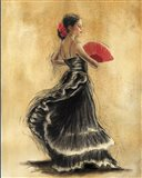 Flamenco Dancer II Art Print