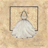 Take Me Dancing IV (white) Art Print
