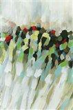 Poppy Swirls I Art Print