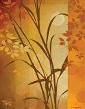 Autumn Sunset I Art Print