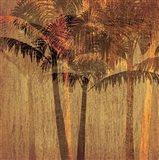 Sunset Palms II Art Print