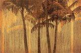 Sunset Palms III Art Print