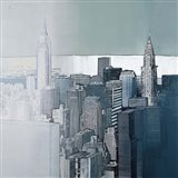Chrysler and Empire State Buildings Art Print