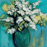 White Lilac Waltz Art Print