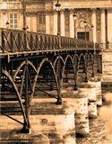 Ponts des Arts - Dtail Art Print