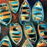 Boat Pods Art Print