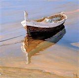 Barcas Descansando Art Print