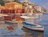 Mar Egeo Art Print