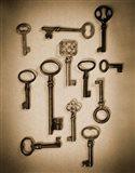 Key Elements I Art Print